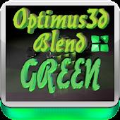 Green 3D Optimus Next Launcher