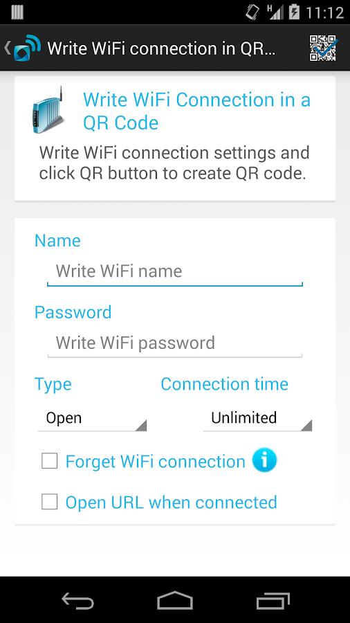 ABA WiFi Share - screenshot