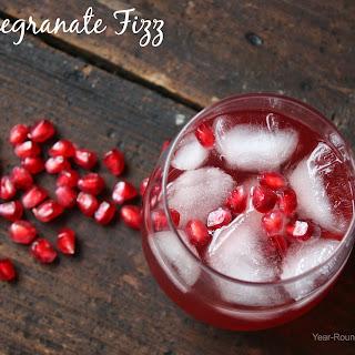 Pomegranate Fizz.