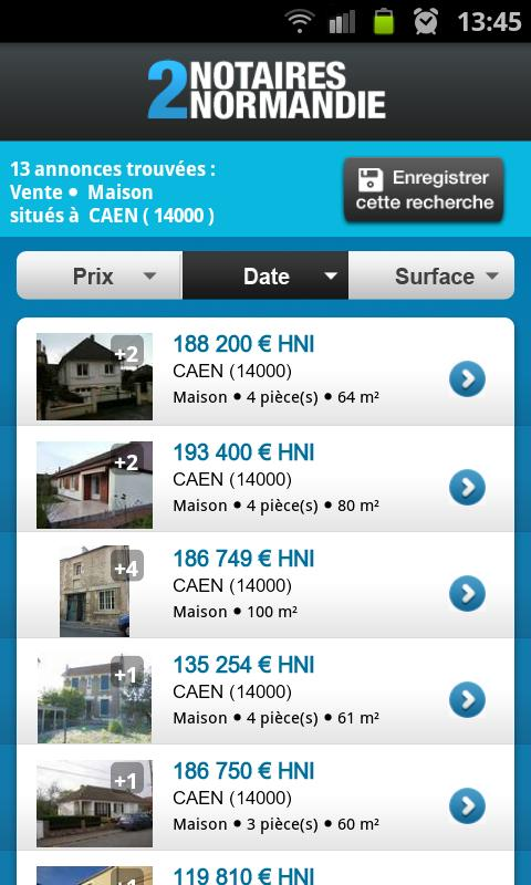 Notaires2Normandie - screenshot