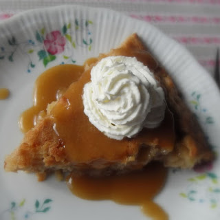 Apple Pie Cake with a Brown Sugar and Rum Sauce Recipe