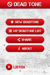 Dead Tone App - screenshot thumbnail