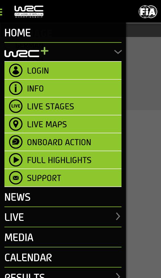 WRC – The Official App - screenshot