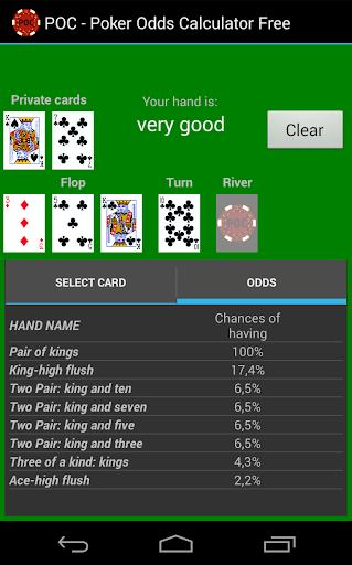 Poker odds calculator download free
