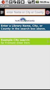 Pacific Library Partnership- screenshot thumbnail