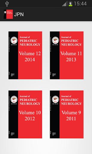 Journal of Pediatric Neurology