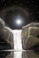 Screenshot of Waterfall At Moonlight Live Wa