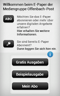 offenbach post e paper android apps auf google play. Black Bedroom Furniture Sets. Home Design Ideas