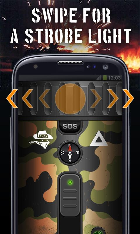 Tank Flashlight (U.S. pack)- screenshot