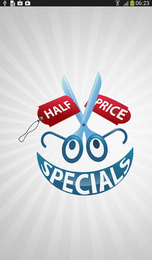 Half Price Specials- screenshot