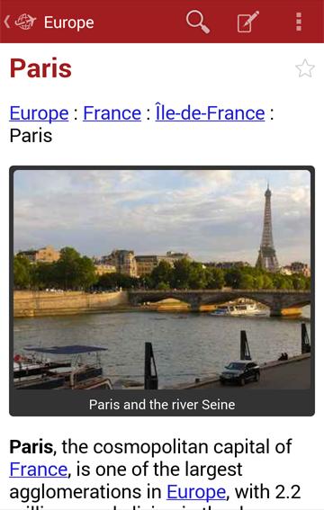 Europe Travel Guide Offline - screenshot