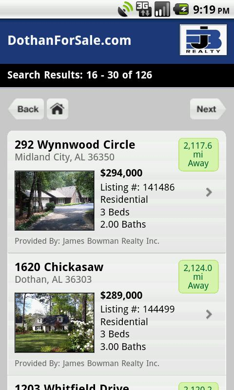 Dothan Homes For Sale- screenshot