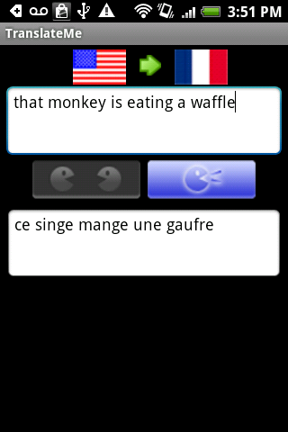 French Translator - screenshot