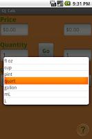 Screenshot of OJ Calc