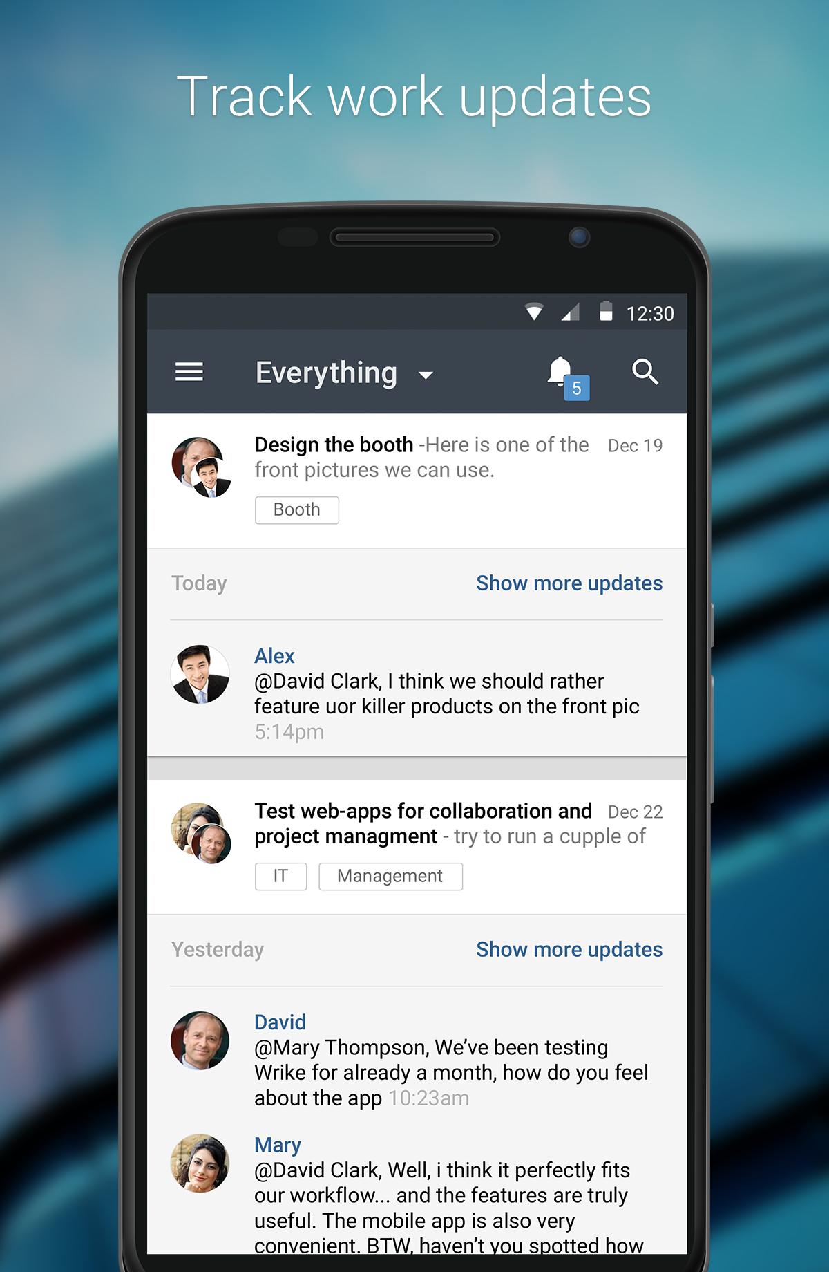 Wrike - Project Management screenshot #3
