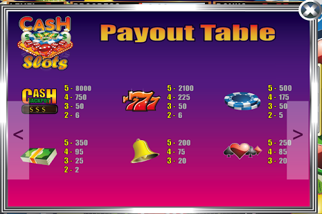 Cash Slots Slot Machine- screenshot thumbnail