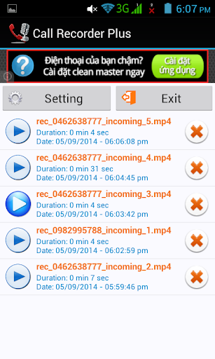 CALL RECORDER ANDROID FREE NEW