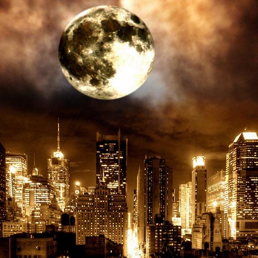 3D Moon & Planet Pics