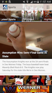 KWQC News - screenshot thumbnail