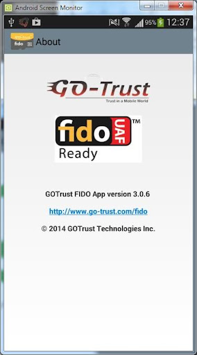 【免費商業App】Go-Trust FIDO-APP點子