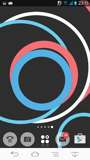 無料娱乐Appのフラットスタンプライブ壁紙Free|記事Game