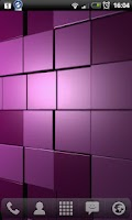 Screenshot of Cubescape 3D Live Wallpaper