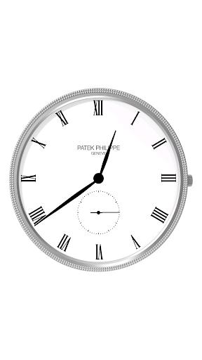 Patek Clock Lockscreen