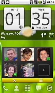 Arti's Fancy Contact Widget - screenshot thumbnail