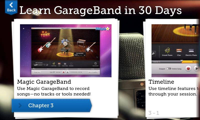 Learn GarageBand in 30 Days- screenshot