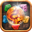 Jewels & Dragon Game icon