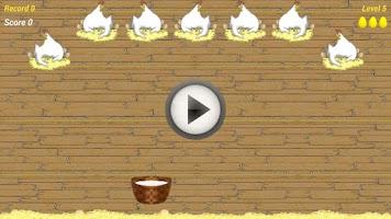 Screenshot of Falling Eggs