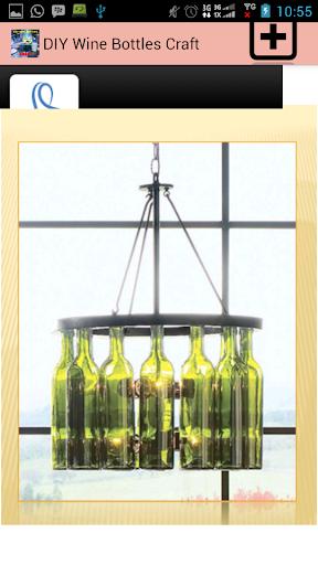 DIY Wine Bottles Craft