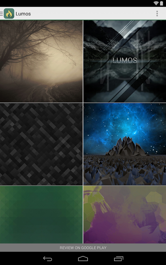 Lumos - Icon Pack - screenshot