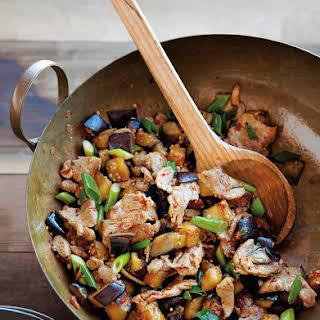 Spicy Pork & Eggplant  Stir-Fry.