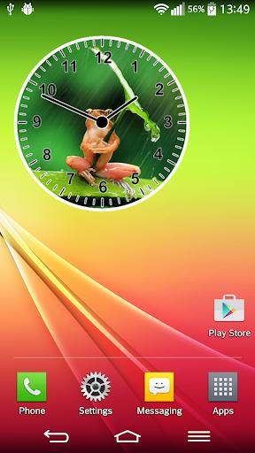Animal Clock Widget