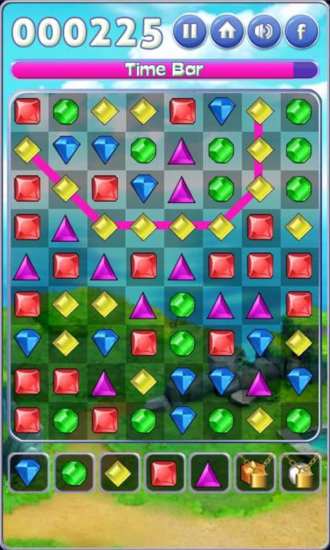 Jewels Line Mania- screenshot