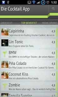 Die Cocktail App- screenshot thumbnail
