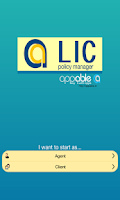 Screenshot of LIC Policy Manager - appable