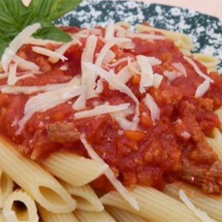 Tuscan Style Meat Sauce (Ragu Toscano)