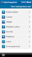 Screenshot of Caja de Ingenieros