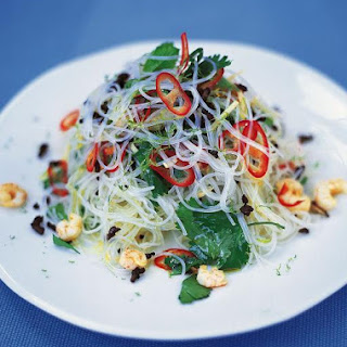 Fresh Asian noodle salad.