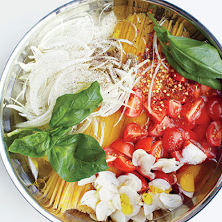 Linguine with Tomato and Basil.
