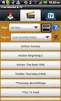 Screenshot of Watch Free Movies - LITE