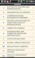 Screenshot of USC T.2 The Congress