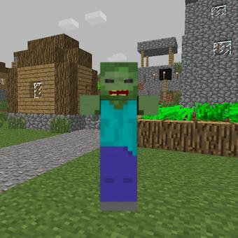 ZombieTown Minecraft Wallpaper