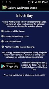 Gallery WallPaper Demo- screenshot thumbnail