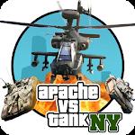 GT Apache vs Tank in New York 1.9 Apk