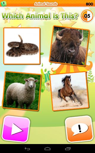 Игра Зоопарк Викторина для планшетов на Android