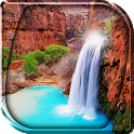Waterfall Live Wallpaper icon