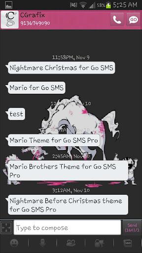 【免費個人化App】Bad Unicorn Theme Go SMS Pro-APP點子